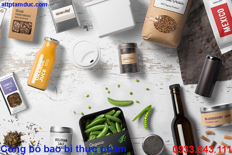 Công bố chất lượng bao bì chứa đựng thực phẩm tại Hà Nội