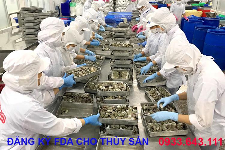 Đăng ký FDA cho thủy hải sản