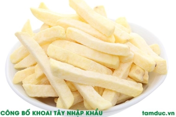 Công bố chất lượng khoai tây nhập khẩu